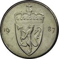 Monnaie, Norvège, Olav V, 50 Öre, 1987, SUP, Copper-nickel, KM:418 - Norvège