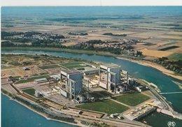 SAINT LAURENT DES EAUX (41). La Centrale Nucléaire Au Bord De La Loire (Vue D'ensemble). - Industry