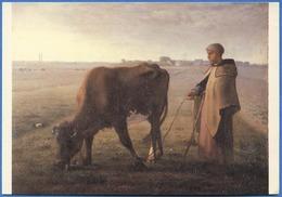 Jean-François MILLET - La Gardeuse De Vache (1858) - Peintures & Tableaux