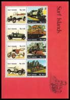 Surf Islands 405 - Voiture (Cars Car Automobiles Voitures)  ** MNH - Voitures