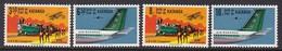 SERIE NEUVE DU KATANGA - COURRIER PAR AVION N° Y&T 75 A 78 - Correo Postal