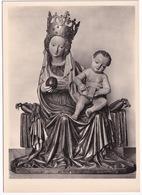München - Bayerisches Nationalmuseum: Maria Mit Kind ( Lindenholz) Aus Kloster Seeon. Um 1430. - Muenchen