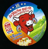 Etiquette Fromage  La Vache Qui Rit The Laughing Cow Mon Petit Plus Cusine 16 Portions - Fromage