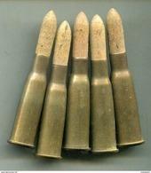 Une Cartouche 8 Mm Lebel à Blanc Mle 1905 - Armes Neutralisées