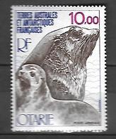 T.A.A.F   Poste Aérienne 1977  Faune Otarie    Cat Yt   N° 48   N** MNH - Poste Aérienne
