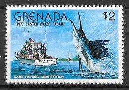 Poisson Espadon Marlin - Grenade N°741 2$ 1977 ** - Fishes