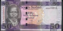 SOUTH SUDAN P14c 50 POUNDS 2017     UNC. - Soudan Du Sud