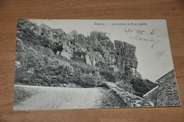 6831-  ESNEUX, LES ROCHERS DE HOUT SI PLOUT - 1908 - Esneux