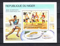 Niger   -  1976. Sprinters. BF MNH - Estate 1976: Montreal