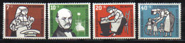 GERMANIA BUND  1956 Xx    MI 243-46 -   Postfrisch    -  Vedi  Foto  ! - [7] République Fédérale