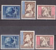 Ro_ Deutsches Reich - Mi.Nr. 820 - 825 - Postfrisch MNH - Deutschland