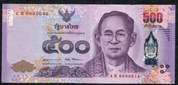 THAILAND P133 500 BAHT 2017  #4K Signature 87    XF-AU   NO P.h. - Thaïlande