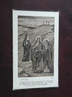 Maria Huyghe - Kerckenaere Geboren Te Eerneghem 1916 En Overleden Te Bekegem  1940  (2scans) - Religion & Esotérisme