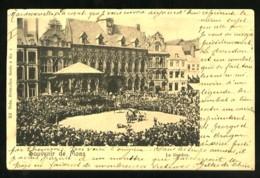 Souvenir De MONS - Le Doudou - (Beau Plan Très Animé)  - CP Très Ancienne, Vers 1900. - Mons