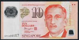 SINGAPORE P48k 10 DOLLARS (hollow House)  2015  XF-AU - Singapour