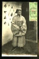 TONKIN - 328 - MONCAY - Le Tri-Chau, Sous-Préfet En Costume De Cérémonie (Gros Plan) - Vietnam