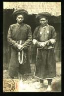 765 - MANS-TA-PAN (Homme Et Femme) - Région De Chamg-Peung, Près De Dong-Van  (Gros Plan Animé) - Viêt-Nam