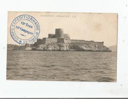 CARTE AVEC CACHET MILITAIRE CORPS EXPEDITIONNAIRE D'ORIENT 16 E TRAIN 16 E COMPAGNIE AU DEPART DE MARSEILLE 1915 - Marcofilie (Brieven)