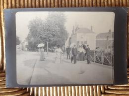 Carte Photo Prise Sur Le Premier Pont à L'entrée De L'Avenue De La République à La Ferté Bernard. - La Ferte Bernard