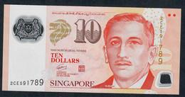SINGAPORE P48a 10 DOLLARS  (SPORTS)  2008  AU-UNC. - Singapore