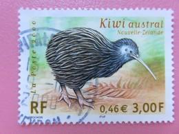 Timbre France YT 3360 - Faune En Voie De Disparition - Kiwi Austral - 2000 - Tampon Rond - France