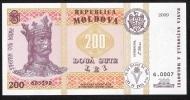 MOLDOVA  P16   200 LEI   2009  UNC. - Moldavie