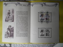 BF N° 13 Oblitéré Sur Document 1991 Révolution Francaise 3 SCAN - Oblitérés