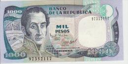 Colombia 1000 Peso 2001 Pick 450 UNC - Colombie