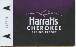 Carte Clé Hôtel Avec Casino Adjoint : Harrah's Cherokee Casino Resort - Cartes D'hotel