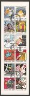 1988 Carnet BC 2848 La Communication En BD Oblitération D'époque Du 2-2-1988 NON Plié - Commemoratives