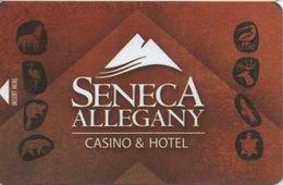 Carte Clé Hôtel Avec Casino Adjoint : Seneca Allegany Casino & Hotel - Cartes D'hotel