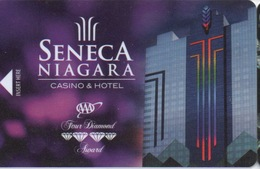 Carte Clé Hôtel Avec Casino Adjoint : Seneca Niagara Casino & Hotel - Cartes D'hotel