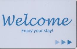 Carte Clé Hôtel : Welcome / Enjoy Your Stay ! - Cartes D'hotel