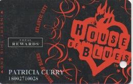 Carte Casino Total Rewards : House Of Blues : Atlantic City - Cartes De Casino