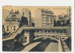 PARIS GARE DE BOULAINVILLIERS CPA BON ETAT - Métro Parisien, Gares