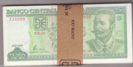 Cuba 5 Pesos 2009 Pick 116 UNC - Cuba