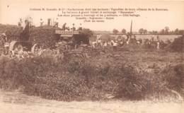 49 - Maine Et Loire / 10025 - Ingrandes - Les Deux Presses à Fourrage - Battage - France