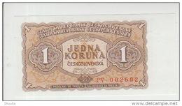 Czechoslovakia 1 Koron 1953  Pick 78 UNC - Tchécoslovaquie