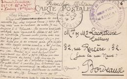 CPA En FM - Cachet * Dépôt Du 148è Tal D'Infanterie * Centre D'Inston De Pontacq* Basses Pyrénées. - Guerre De 1914-18