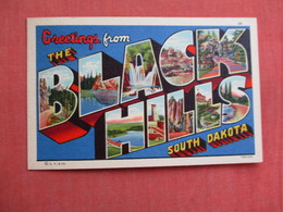 Greetings  Black Hills  South Dakota  > Ref 3106 - Verenigde Staten