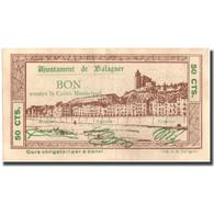 Billet, Espagne, 50 Centimos, BALAGUER, Batiment, 1937, 1937, SUP - Espagne