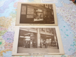 Gare Du Nord Norda Stacidomo 2 Cartes Postales Esperanto - Arrondissement: 10