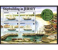 74509) JERSEY 1992 Costruzioni Navali BF MNH** - Jersey
