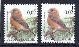 BUZIN  Papier + Kleur Variaties * Nr 2918 * Helder + Dof Fluor Papier * Postfris Xx * - 1985-.. Pájaros (Buzin)