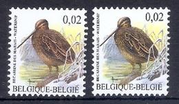 BUZIN  Papier + Kleur Variaties * Nr 3199 * Helder + Dof Fluor Papier * Postfris Xx * - 1985-.. Pájaros (Buzin)