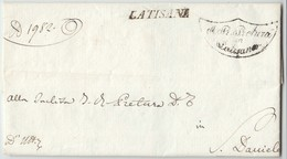 Prefilatelica Latisana 1836 - 1. ...-1850 Prephilately