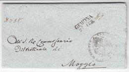 Prefilatelica Gemona 1847 - 1. ...-1850 Prephilately
