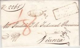 Prefilatelica Badia 1836 - 1. ...-1850 Prephilately