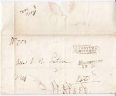 Prefilatelica Montebelluna 1849 - 1. ...-1850 Prephilately