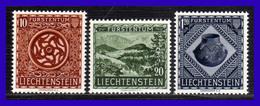 1953 - Liechtenstein - Sc. 274 - 276 - MNH - LI - 089 - 01 - Liechtenstein